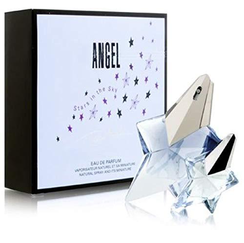 Angel by Thierry Mugler for Women 2 Piece Set Includes: 0.8 oz Eau de Parfum + 0.17 oz Miniature Collectible Eau de Parfum ( Stars in the Sky Edition ) (0.17 Ounce Miniature Collectible)