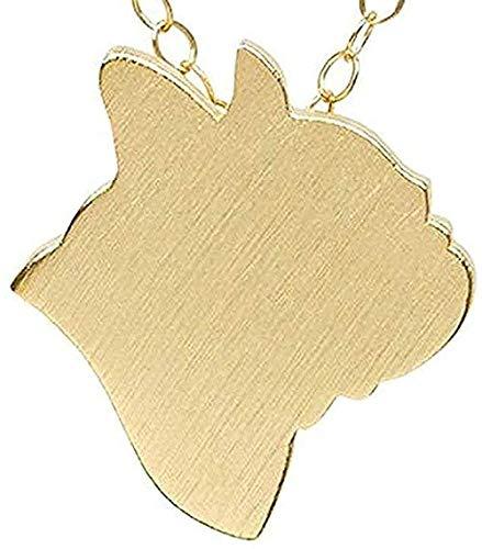 Yiffshunl Collar Joyas Animal Bulldog Francés Collar Gargantilla Perro Mascota...