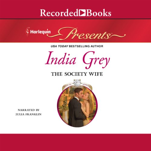 The Society Wife audiobook cover art