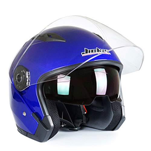 Helm Offenes Visier Motorrad Halbhelm Vintage Scooter Jet Helm Offenes Gesicht Männer Frauen Casco Retro Helme Pare Moto Cascos Para