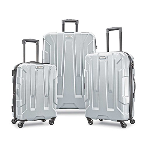 Samsonite Centric Hardside Luggage, Silver, 3-Piece Set