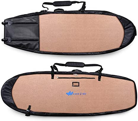 Wave Tribe Surfboard Travel Bag Grizzly Bear Brown 6 7 Mini Retro product image