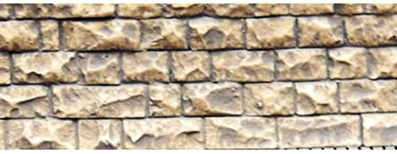 Chooch Enterprises HO/N Flexible Small Cut Stone Wall
