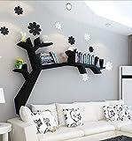 YLCJ Étagère en Forme d'arbre étagère Murale tenture Murale de Salon bibliothèque présentoir...