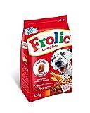 Frolic Pienso Semihúmedo para Perros Adultos Sabor Buey (Pack de 5 x...