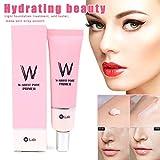 Luckguy Face Pore Primer Whitening Moisturizing Cream Brighten Beauty Skin Cosmetic for Women