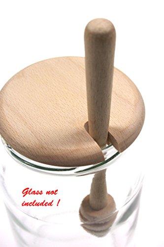 Cuchara para miel con jar juego   Miel   Batidor de miel   