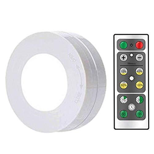 Drahtloses LED-Parklicht, Schranklicht, Induktionsnachtlicht, Schranklicht mit Fernbedienung, geeignet für Treppen, Korridor, Kleiderschrank, Schrank