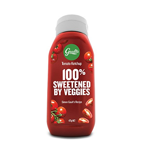 Gault's Tomato Ketchup, Sweetened with 100% Vegetables, Paleo Friendly, Non-GMO, Healthiest Ketchup on the Market (16.75oz)