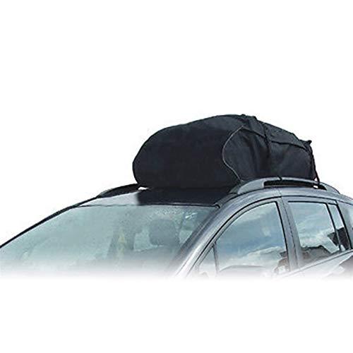 Estante del coche Soft Shell Techo Coche en la azotea transporte de carga, bolso con 4 correas reforzadas 15 pies cúbicos manto de impermeabilización estante del coche plegable 600D Bolsa de Carga Tec