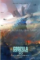 映画ポスター ゴジラ キングオブモンスターズ Godzilla King of the Monsters ゴジラ 24×35.6inc (61×90.5cm) US版 hi7 [並行輸入品]