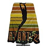 Vintage Black Mamba Basketball Legend Home Haircut Apron Cape Hair Salon And Dyeing Styling Cloth For Women/Men 5566 In