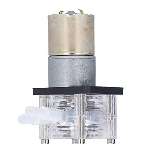 Peristaltic Pump -High Flow Anti‑Corrosion Silent for Viscous Liquid 0‑400ml/min 12V