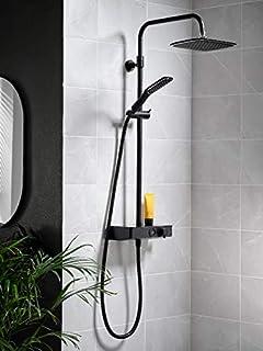 Triton Showers SWPBDIVBLK Push Button Mixer-Matte Black