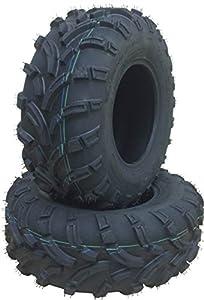 Set of 2 WANDA ATV/UTV Tires 26x9-12 /6PR P373 - 10259 …