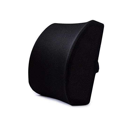 Back Cushion for Best Lower Back Support Seat Cushion Comfort Memory Foam Orthopedic Chair Pillow Back Pain Relief Sciatica Tailbone Pain Back Support Seat Cushion Office Car Sitting Pregnancy Travel