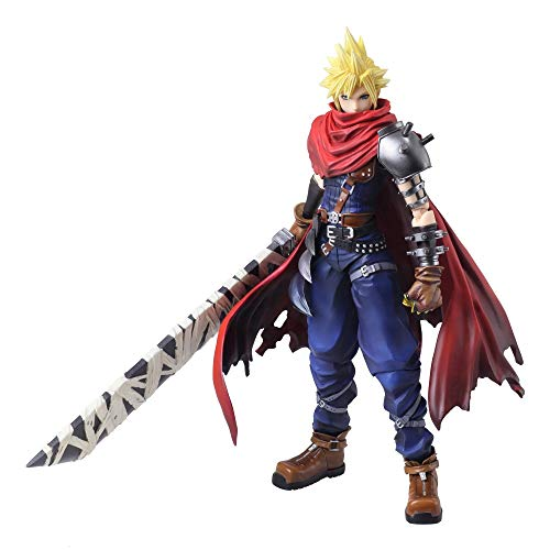 Square Enix Final Fantasy 7 Cloud Strife Another Form Variant Bring Arts Action Figure
