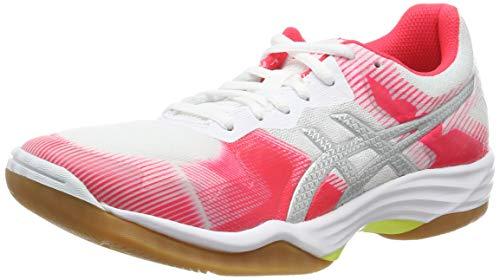 ASICS Damskie buty do siatkówki Gel-tactic 50,5 EU, biały - Biały White Silver 101-36.5 EU