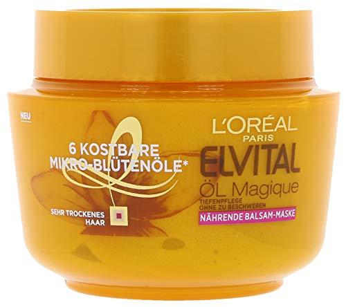 L'Oréal Paris Elvital Öl Magique Nährende Balsam-Maske,270 ml (3er Pack)
