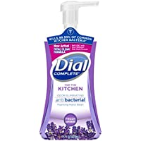 Dial Complete 7.5 Fl Oz Antibacterial Foaming Kitchen Hand Soap (Fresh Lavender)