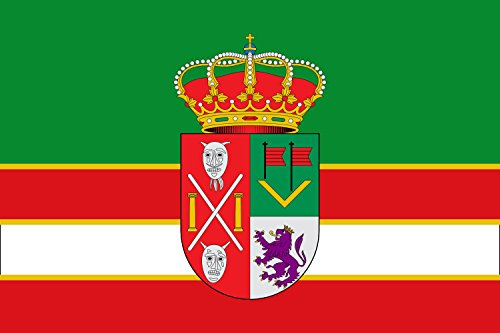 magFlags Bandera Large Villamandos, León, España | Bandera Paisaje | 1.35m² | 90x150cm