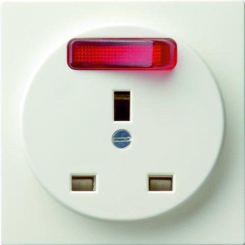 Gira 048940 stopcontact BS uitschakelbaar S-Color, zuiver wit