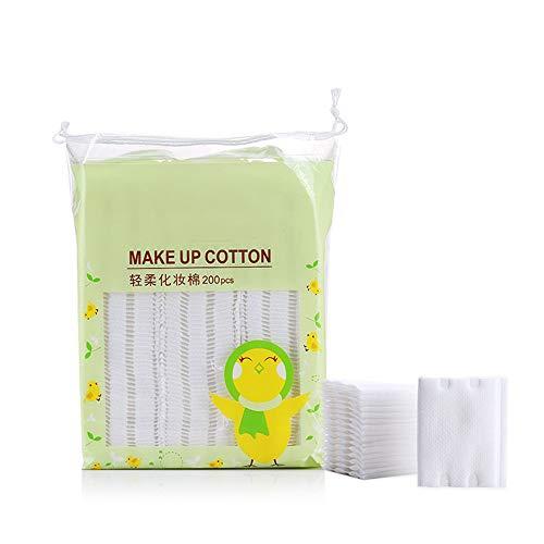 TSRJ Démaquillant Réutilisable Démaquillant Cotton Pad 200pcs