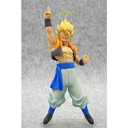 VENDISART Anime Dragon Ball Z Gogeta Vegeta Son Goku Fusion Angel Aura Super Saiyan Chocolade Figuratie Com Actie Figuur PVC DBZ Model