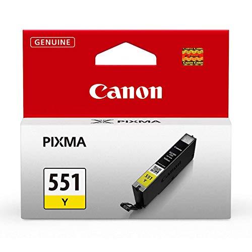 Canon Tintenpatrone CLI-551 Y gelb yellow - 7 ml für PIXMA Drucker ORIGINAL