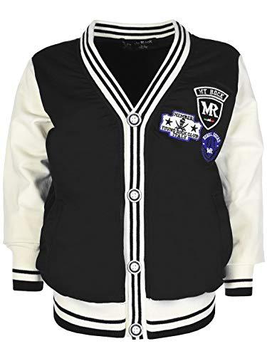 My Rock Jungen College Jacke 30171 Schwarz 116