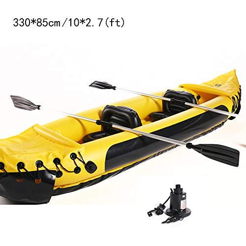 FACAI Canoe Kayak Rigide Kayak Gonflable 2 Place...