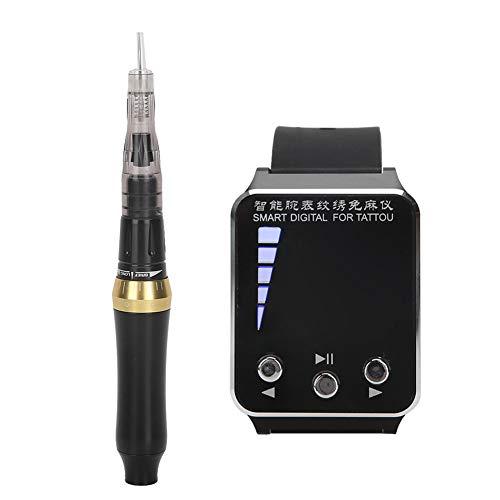 Reloj de pulsera Máquina de tatuaje Pluma de tatuaje eléctrica profesional semipermanente...