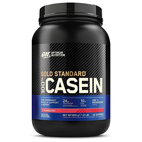 Optimum Nutrition 908g Strawberry Delight 100 Percent Gold Standard Casein by Optimum Nutrition