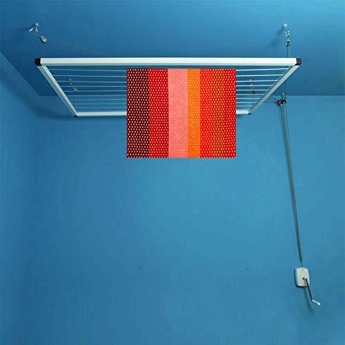 Maya Tendedero de techo con manivela 150/80 cm