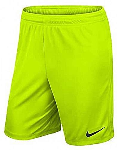 Nike Dry Football, Pantaloncini Uomo, Volt/Nero, S