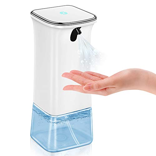 Reesibi Dispenser Automatico per Disinfettante Alcol Spray Spruzzino per Bagno Ufficio Hotel Scuola Cucina Ospedale, Dispenser Distributore Alcol Touchless con Sensore Infrarossi Distributore 350ml