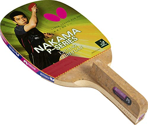 Butterfly Nakama P4 Japanese Penhold Table Tennis Racket | Nakama Series | Great Speed and Better Spin for Advanced Play | Recommended for Intermediate Level Players