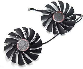 Ventilador de Tarjeta Gráfica Ventilador de Refrigeración para MSI GTX 1080 GTX 1070 GTX 1060 RX 580 RX570 Armor Video Card Cooler Fan
