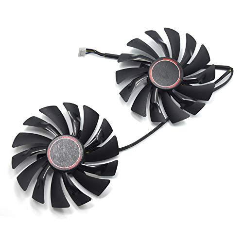 Grafikkartenlüfter für MSI GTX 1080 GTX 1070 GTX 1060 RX 580 RX570 Video Card Cooler Fan