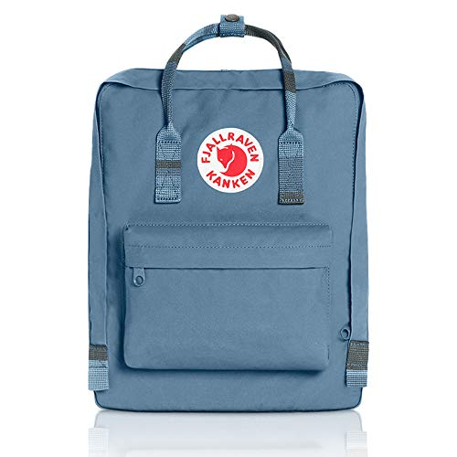 Fjällräven Rucksack Kanken Synthetik 16.0 l (Blue Ridge/Random Blocked)