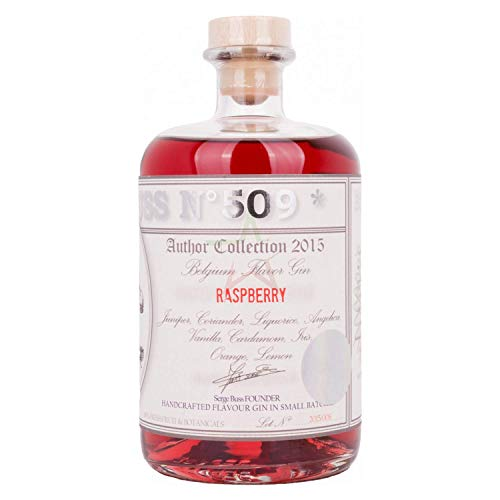 Buss N°509 RASPBERRY Belgium Flavor Gin Author Collection 2015 37,50% 0,70 Liter