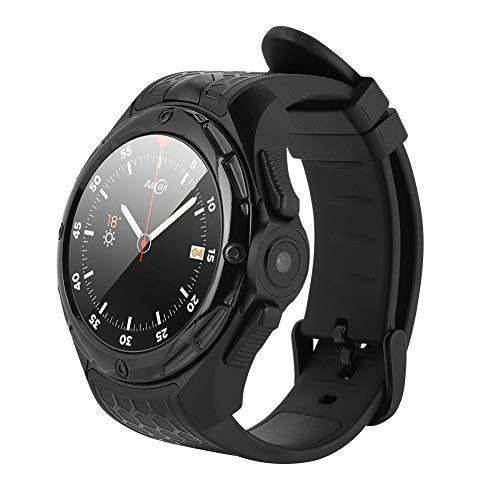 Tanke Pulsera Inteligente Reloj Pulsera 2.0MP 3G Teléfono GPS 2 + 16G Monitor de frecuencia cardíaca Podómetro Negro, 5.2X0.9in