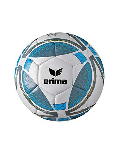 Erima Unisex Jugend Senzor Lite 290 Fußball, grau/Curacao, 5