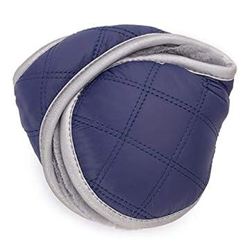 ARHSSZY Plush Winter Earmuffs Warm Waterproof Foldable Ear Warmer for Men