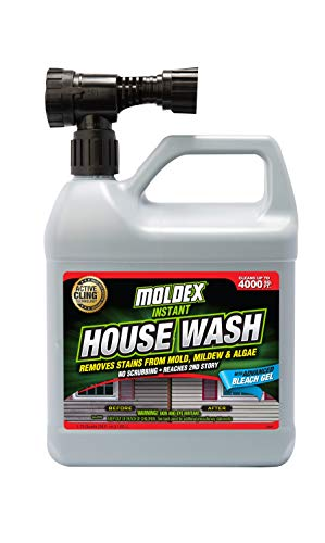 Moldex, 56 oz, Yellow Concentrated Instant House Wash