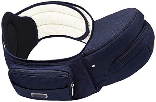 HZYD -Baby haut grade convertible Porte-bébé for enfant en bas âge, multifonctionnel, ergonomique, 100% coton bébé taille Tabouret (Couleur: Bleu Royal) (Couleur: Rose) (Couleur: Bleu Royal), Couleur: