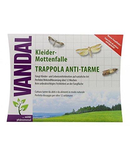 Vandal Trappola Antitarme per tessuti e alimenti