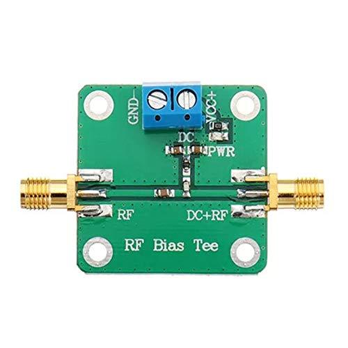 Módulo de alimentación de CC, vaina de radiofrecuencia de banda ancha, bloqueador de polarización de CC de microondas, amplificador de radio 10-6000Mhz, 6Ghz, verde