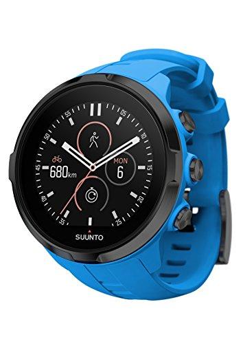 Suunto - Reloj Deportivo multifunciones Spartan (muñeca–AR), 0.5 pounds, Color Azul