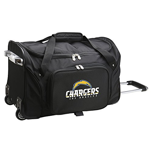 Best Price! NFL Los Angeles Chargers Wheeled Duffle Bag, 22-inches